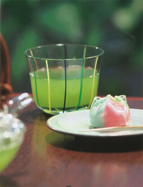 夏の食材_お茶と和菓子